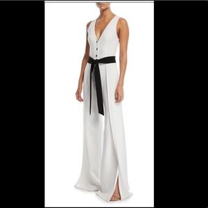 BRAND NEW Alexis Jumpsuit with Black Buttons/Belt